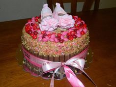 Baby shower cake !!