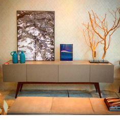 Beautiful Brazilian Furniture from Saccaro and Photography by Soraya Pastor Photo Art - Water Strokes Series