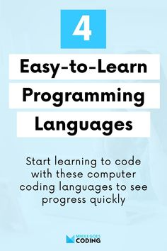 What programming language should you learn first? Check out these 4 popular and easy-to-learn computer coding languages for beginners! Find the best tools and online courses for learning to code, build a developer portfolio, and start a career in tech. #mikkegoes #technology #programming #coding #learncoding #webdevelopment #webdeveloper