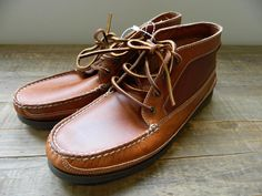 Sperry Top Sider for J.Crew Leather Chukka Shoes Boots 8.5 $125 NEW #SperryTopSider #AnkleBoots