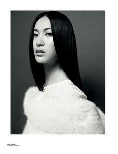 Aline Weber, Shu Pei, Hailey Clauson & Nimue Smit by Kai Z Feng for Stockholm S/S/A/W