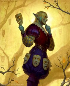 HEX: Master of Masks, Sam Carr on ArtStation at https://www.artstation.com/artwork/xLq5X