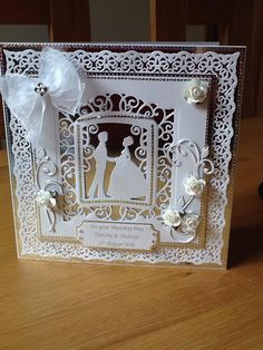Wedding Card Verses, Wedding Day Cards, Wedding Cards Handmade, Wedding Anniversary Cards, Greeting Cards Handmade, Becca Feeken Cards, Tonic Cards, Spellbinders Cards, Scrapbook Cards