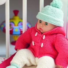Baby+Doll+Outfit+-+Knitting+Pattern