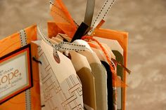 The Efficient Crafter: Envelope Punch Board Tag Booklet