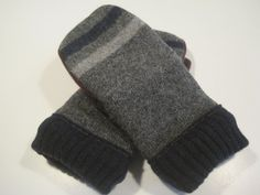 Grand Rapids Wool Mittens  med/lg  MMC448 by MichMittensbyLauri, $23.00