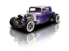 Purple Metallic 1932 Ford Coupe | RK Motors,  Charlotte | Collector and Classic Cars