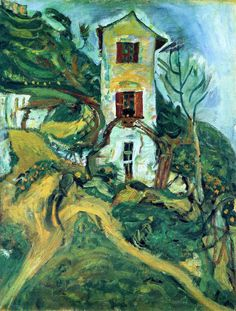 Chaim Soutine | You can't help feeling that He would have liked to live here