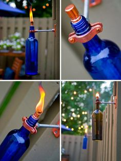 DIY wine bottle torch :)