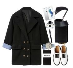 """""""Woollen pea coat"""" by thestyleartisan ❤ liked on Polyvore featuring мода, Marni, Nixon, Lelo, Montegrappa, Gucci и Whistles"""