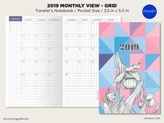 29 Best 2019 Printable Inserts For Traveler S Notebook Images On