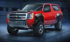 The new 2dr Tahoe Concept 2016 unveiled!