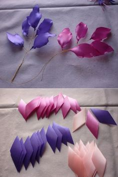 Flores organza MyKingList com is part of Ribbon flowers diy - Ribbon Art, Diy Ribbon, Fabric Ribbon, Ribbon Crafts, Flower Crafts, Fabric Crafts, Ribbon Rose, Ribbon Embroidery Tutorial, Embroidery Leaf