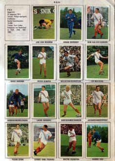 PSV Eindhoven Scrapbook 1970-1971