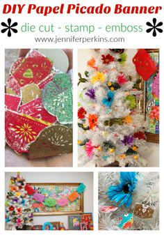 Easy DIY papel picad