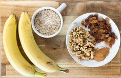 These Banana Breakfast Snack Cookies are packed with healthy ingredients. The fitness bars are packed with healthy ingredients and are a ideal filling snacks between the meals or before your workout. Banana Oatmeal Cookies, Banana Oats, 2 Ingredient Cookies, Best Facial Hair Removal, Oatmeal Breakfast Bars, Banana Breakfast, High Protein Snacks, Banana Recipes, Tray Bakes