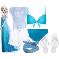 """Elsa: Summer"" by artsygurl842 on Polyvore"
