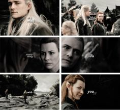 Tauriel, Legolas I WANT TO CRYYYYY