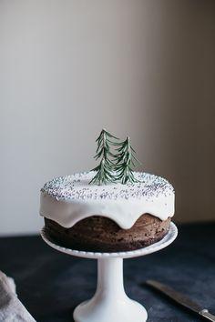 Mini Gingerbread Cake   erin made this-10