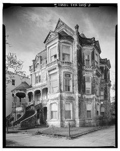 Herman Marwitz House, Galveston, TX. Built in 1893, demolished in 1969.