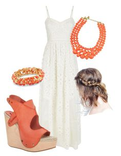 """simple simple simple"" by poulinelaine on Polyvore featuring Juicy Couture, Max Studio and Palm Beach Jewelry"