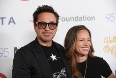 Robert Downey Jr. and Susan Downey at the Motion Picture Television Fund 95th Anniversary Gala, Los Angeles, October 1, 2016