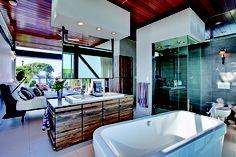 Neat master bedroom. Boiler home in Manhattan Beach.