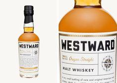 Westward Whiskey   Packaging. Prescriptive
