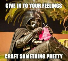 Craft something pretty.  Hahahaha!