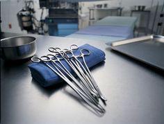 Hospital tools.