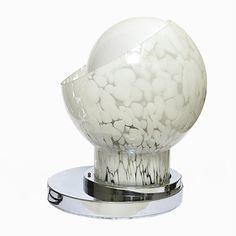 Vintage Tischlampe aus Mundgeblasenem Glas Jetzt bestellen unter: https://moebel.ladendirekt.de/lampen/tischleuchten/beistelltischlampen/?uid=cc268fea-6c16-5906-88f5-696e7f8a7525&utm_source=pinterest&utm_medium=pin&utm_campaign=boards #lampen #tischleuchten #beistelltischlampen