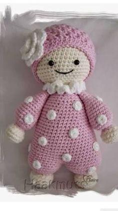 Resultado de imagem para como fazer bonecas em croche