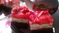 Fajitas, Baking Recipes, Panna Cotta, Sweet Tooth, Cheesecake, Cherry, Oreo, Sweets, Cooking