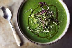 Fennel Spinach Soup - Tasty Yummies
