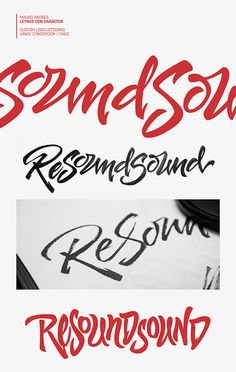 ReSoundSound Logo / Finlandia by Mauro Andrés, via Behance