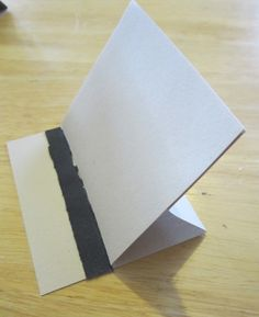 easily amused, hard to offend . . .: super simple easel card directions/tutorial