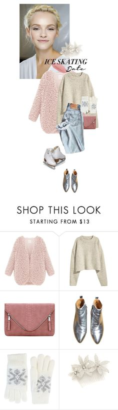 """""""Iceskating date"""" by perlarara ❤ liked on Polyvore featuring GINTA, Fits, Jennifer Behr and iceskatingoutfit"""