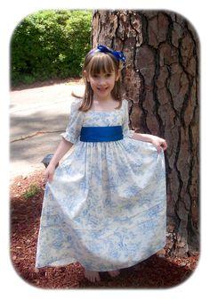 Girls' 1780s Portrait Dress Pattern | Sense & Sensibility Patterns