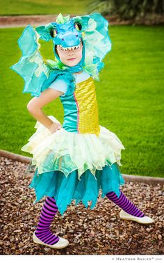 For the little girl ... who wants to be a dragon :)