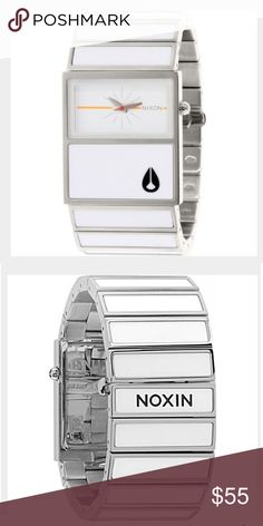 Nixon Chalet Women's Watch Clean and modern looking Nixon Chalet Women's Watch. In great condition. New battery just put in. Extra links included. Just the cutest white watch there ever was from an awesome brand. Nixon Accessories Watches