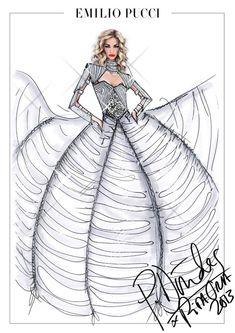 Les costumes de scène de Rita Ora par Peter Dundas http://www.vogue.fr/mode/inspirations/diaporama/traits-de-genies-croquis-de-createurs-mode/12687/image/744325#!les-costumes-de-scene-de-rita-ora-par-peter-dundas