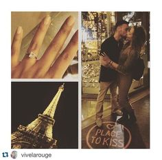 Our customers are so romantic!! This proposal took place at the top of the Eiffel Tower in Paris! #CustomerAppreciation #SolomonBrothers