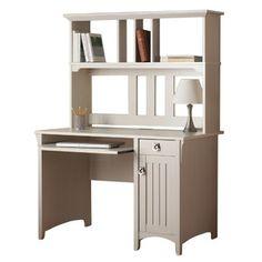 Diana Computer Desk & Hutch