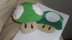 amigurumi Nintendo mushroom