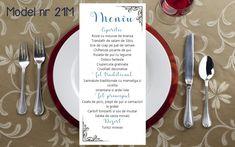 Meniu Nunta diverse modele Mai multe detalii gasiti in Bio Wedding Day Wedding Planner Your Big Day Weddings Wedding Dresses Wedding Bells Wedding Cake Wedding Menu, Wedding Bells, Wedding Planner, Wedding Cakes, Wedding Day, Mousse, Wedding Inspiration, Invitations, Tableware
