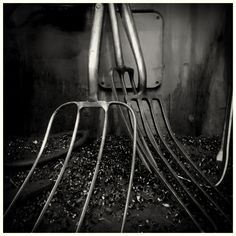 Forks for Swalf by Michael Gent on 500px #blackandwhite #photography #lowkey #forks #stilllife