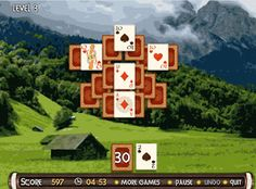 The most popular game solitaire in new great colorful and absorbing interpretation by Card-Board-Games.com This entertaining patience card game will attract all fans of cards logic and puzzle games as it has excellent graphics in Viking Age theme as well as smooth and addictive game-play. Join Viking raid visit medieval countries and castles and be the winner! The game has two types of solitaire: TriPeaks and Match Pair and 60 skill levels for the continuous and pleasant game. Clear all…