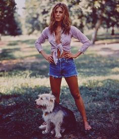 """Could we BE any more white trash?"" — rachelthewaitress:   Jennifer Aniston in the 90s"