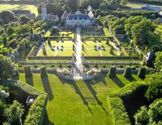 Watch: The gardens of Chateau de Brécy in Normandy, France…