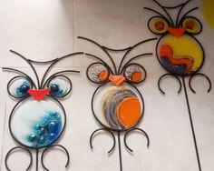 Mosaic Garden, Mosaic Art, Mosaic Glass, Fused Glass, Stained Glass, Glass Art, Craft Projects, Projects To Try, Flower Template